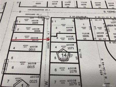 Renton Residential Lots & Land For Sale: 315 Lind Ave NW