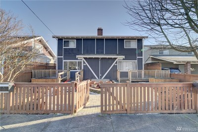 Renton Multi Family Home For Sale: 126 Pelly Ave N #A-B