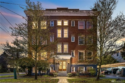 Seattle Condo/Townhouse For Sale: 756 Broadway E #106