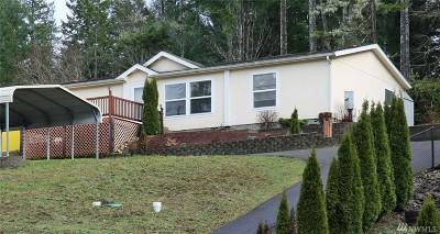 Mason County Single Family Home Pending: 4571 E Rasor Rd W
