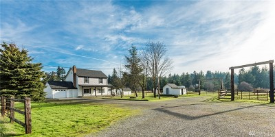 Thurston County Single Family Home For Sale: 14505 Vail Cut Off Rd SE