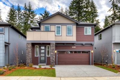Bothell Single Family Home For Sale: 1119 199th St SE #Lot36