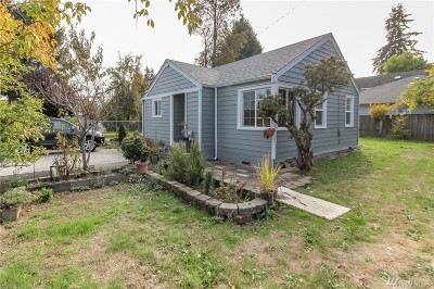 Seattle Single Family Home For Sale: 317 SW 124th St