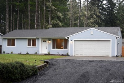 Shelton WA Single Family Home For Sale: $224,950