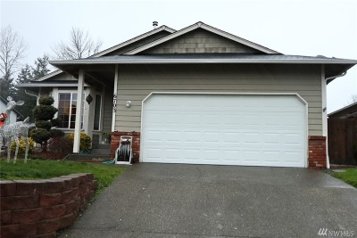 Puyallup Single Family Home For Sale: 6703 152nd St Ct E
