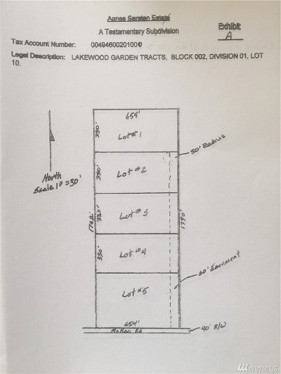 Arlington Residential Lots & Land For Sale: 4 McRae Rd NW #lot 1