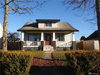 Tacoma Single Family Home For Sale: 6107 Yakima Ave