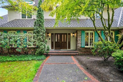 Bellevue Single Family Home For Sale: 4180 134th Ave NE