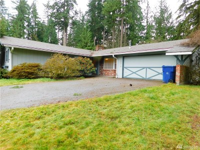 Woodinville Single Family Home For Sale: 15515 187th Ave NE