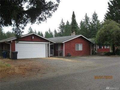 Shelton WA Single Family Home For Sale: $236,450