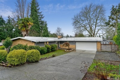 Bellevue Single Family Home For Sale: 16633 SE 9th St
