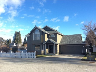 Chelan County Single Family Home For Sale: 701 Kriewald Ct