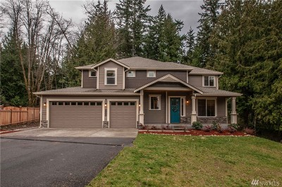Stanwood Single Family Home For Sale: 17308 32nd Dr NW
