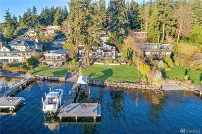 Kirkland Single Family Home For Sale: 11166 Champagne Point Rd NE