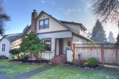 Olympia Single Family Home For Sale: 1107 Jackson Ave NW