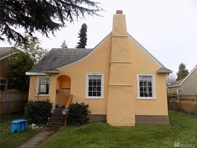 Bellingham Single Family Home Sold: 2509 Park St