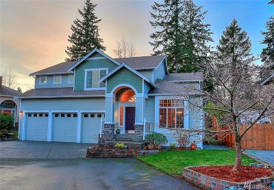 Lynnwood Single Family Home For Sale: 6528 186th St SW