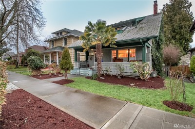 Tacoma Single Family Home For Sale: 811 N Sheridan Ave