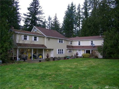Enumclaw Single Family Home For Sale: 41710 218th Ave SE
