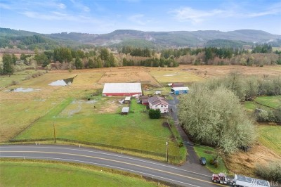 Chehalis Farm For Sale: 447 Boisfort Rd