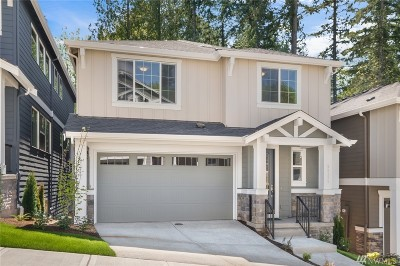 Sammamish Single Family Home For Sale: 22329 SE 43rd (Lot 17) Place