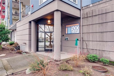 Seattle Condo/Townhouse For Sale: 500 Elliott Ave W #211