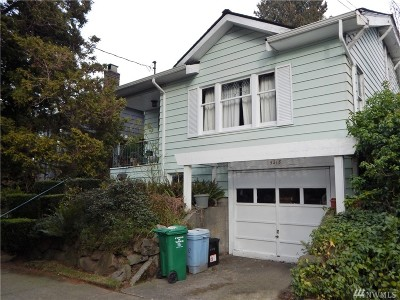 Seattle Single Family Home For Sale: 5218 Kensington Place N