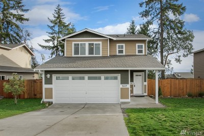 Silverdale Single Family Home Pending Inspection: 7677 Kildare Lp NW