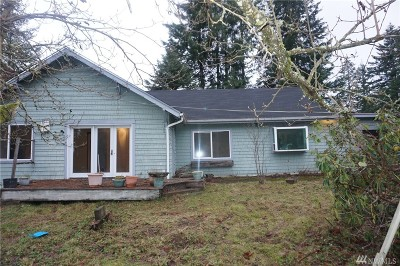 Tenino Single Family Home For Sale: 2740 143rd SE