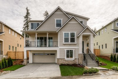 Kenmore Single Family Home For Sale: 16423 84th Ave NE #Lot 8