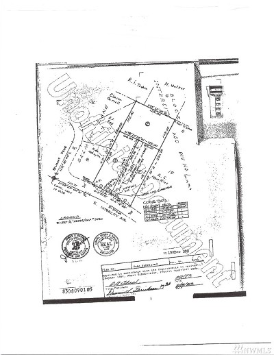 Snohomish County Residential Lots & Land For Sale: 23 E Intercity Ave