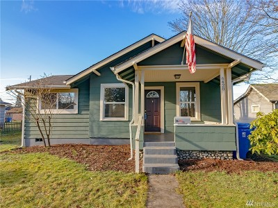 Tacoma Single Family Home For Sale: 6428 S Cheyenne St
