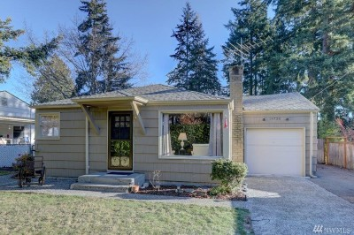 Shoreline Single Family Home For Sale: 14738 25th Ave NE