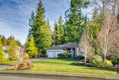 Port Ludlow Single Family Home Pending Inspection: 201 Mt. Constance Wy