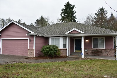 Port Orchard Single Family Home For Sale: 612 Tufts Ave E