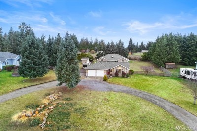Graham WA Single Family Home For Sale: $464,995