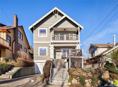 Seattle Single Family Home For Sale: 2112 N 38th St