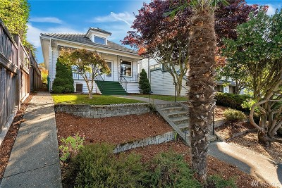 Seattle Single Family Home For Sale: 4332 5th Ave NW