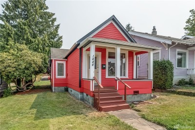 Bellingham Single Family Home For Sale: 1444 Ellis St