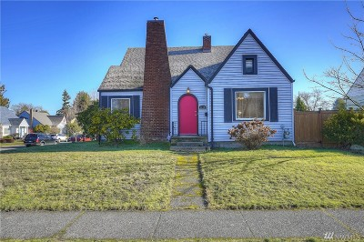 Tacoma Single Family Home For Sale: 1119 N Alder St