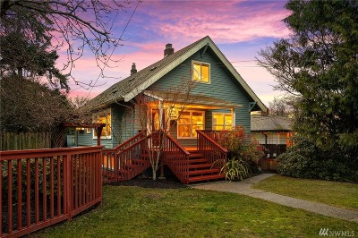 Seattle Single Family Home For Sale: 5118 SW Charlestown St