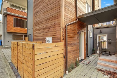 Seattle Single Family Home For Sale: 6004 17th Ave NW #B