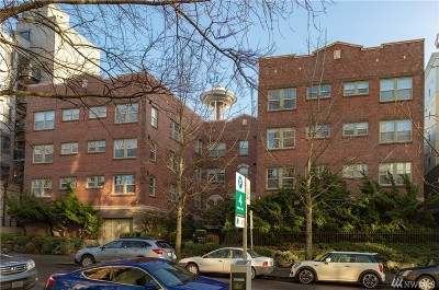 Seattle Condo/Townhouse For Sale: 124 Warren Ave N #202