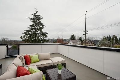 Seattle Single Family Home For Sale: 3031 3rd Ave W #B