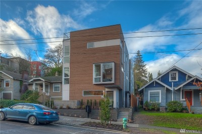 Seattle Single Family Home For Sale: 3031 3rd Ave W #A