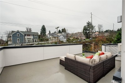 Seattle Single Family Home For Sale: 3029 3rd Ave W #B