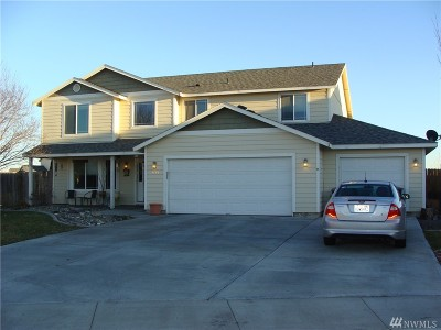 Moses Lake Single Family Home For Sale: 2109 S Allen Ct