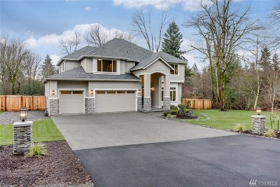 Renton Single Family Home For Sale: 16933 SE 140th St #Lot 3