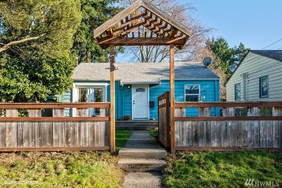 Seattle Single Family Home For Sale: 9010 13th Ave SW