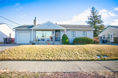 Moses Lake Single Family Home For Sale: 903 S Hawthorne